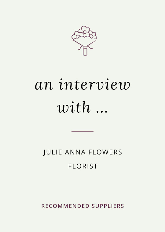 Julie Anna Flowers blog interview cover image