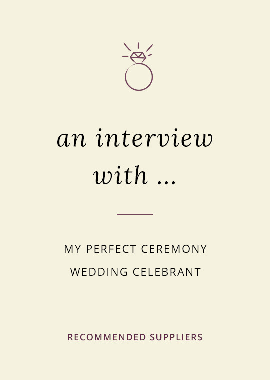 Mt Perfect Ceremony blog interview cover image