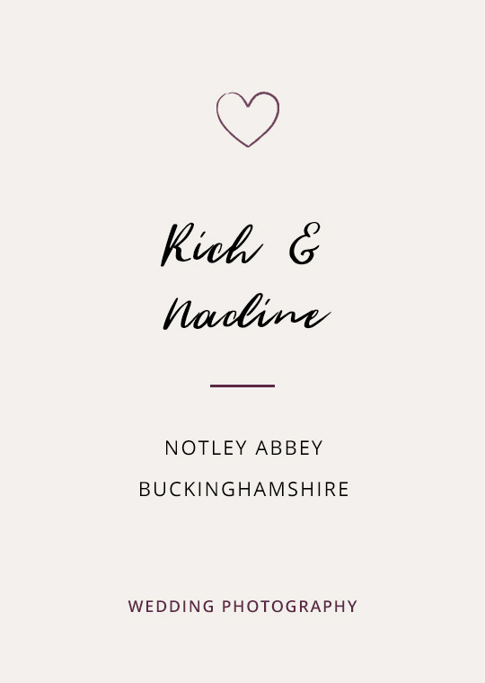Cover image for blog post about Rich & Nadine's wedding at Notley Abbey