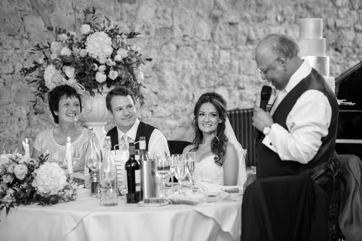 Speeches at Notley Abbey