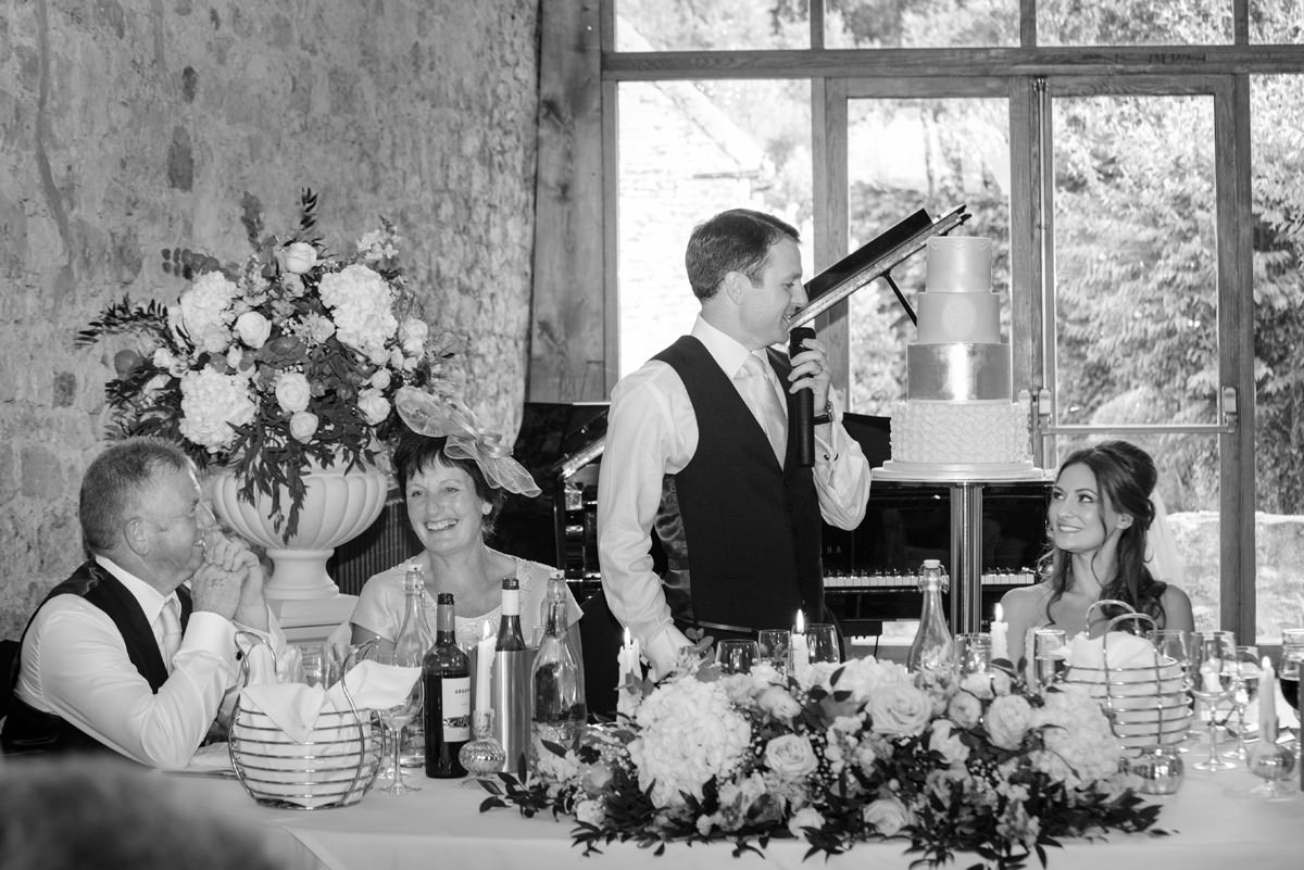 Groom's speech at Notley Abbey