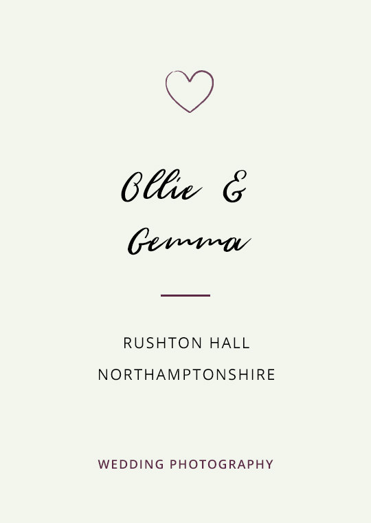 Cover image for Ollie & Gemma's Rushton Hall wedding blog post
