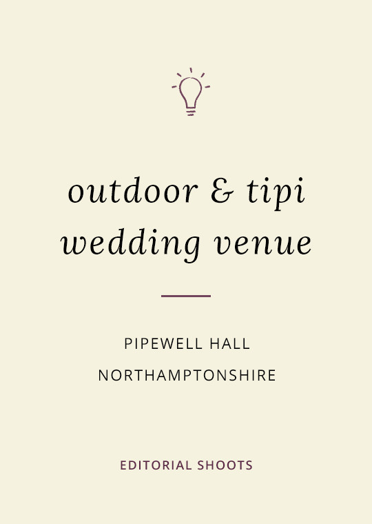 Cover image for blog post about tipi & marquee weddings at Pipewell Hall