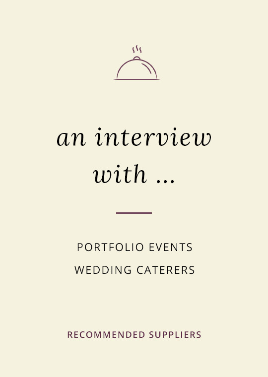 Portfolio Events Catering blog interview cover image