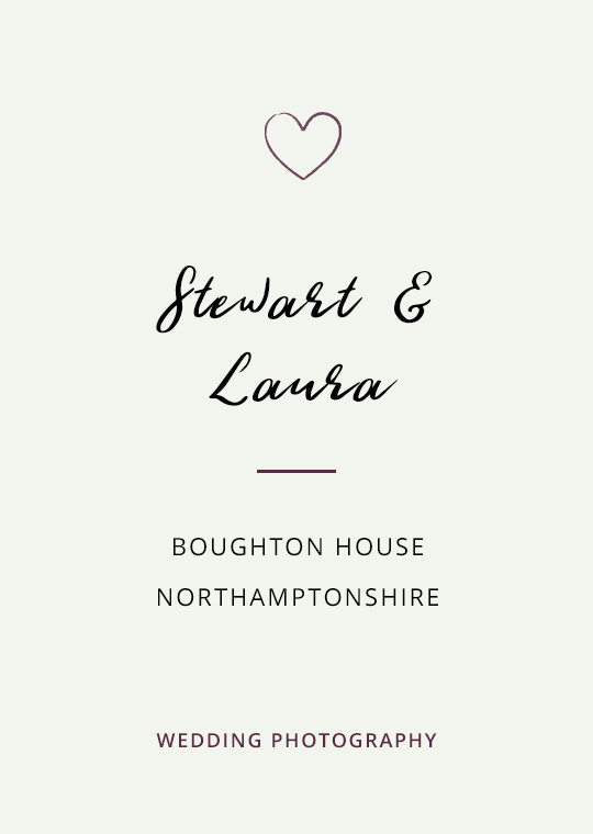 Cover image for Stewart & Laura's Boughton House wedding blog post
