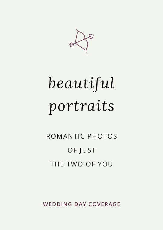 Cover image for blog post about wedding portrait photography
