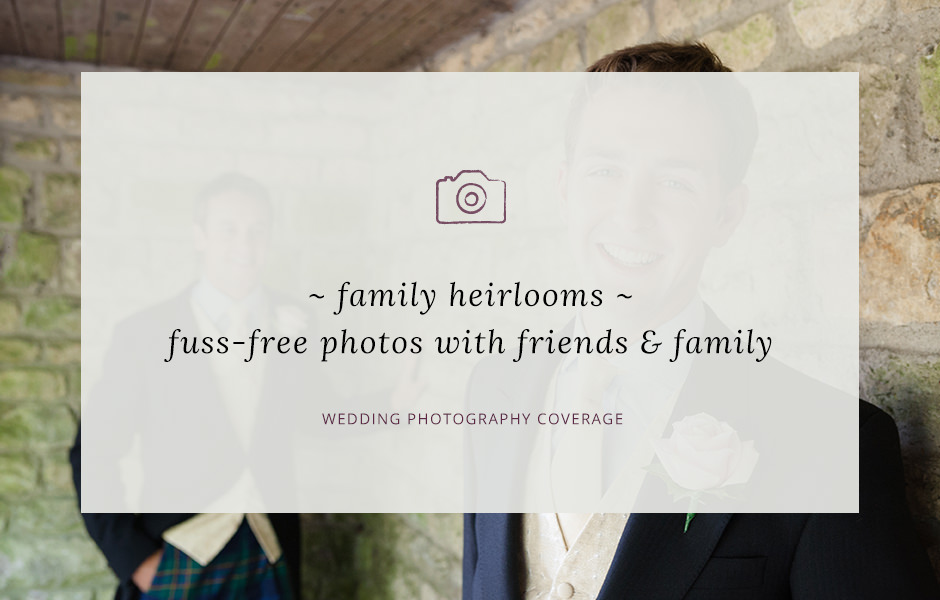 Header image for blog post about wedding group photos