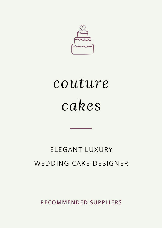 Cover image for blog post about recommended cake designer Couture Cakes