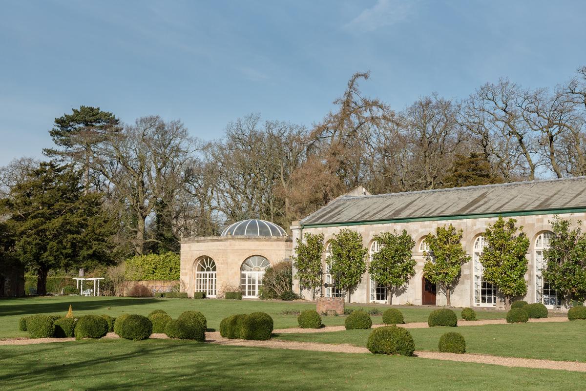 The Orangery & Grand Hall at Stapleford Park