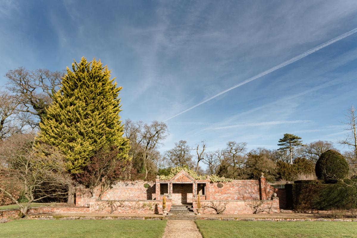 Stapleford Park walled garden