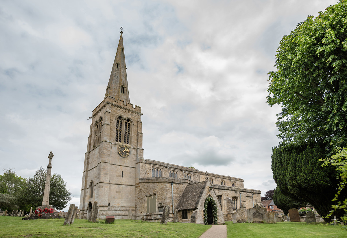 St Mary Magdalene church in Geddington, Northamptonshire