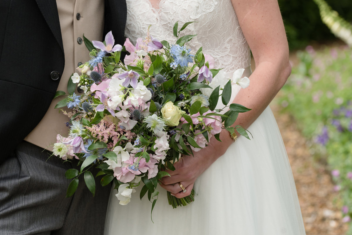Spring wedding bouquet by Julia Dilworth