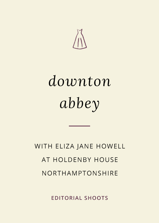 Cover image for Downton Abbey shoot blog post