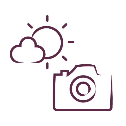 weather icon with camera