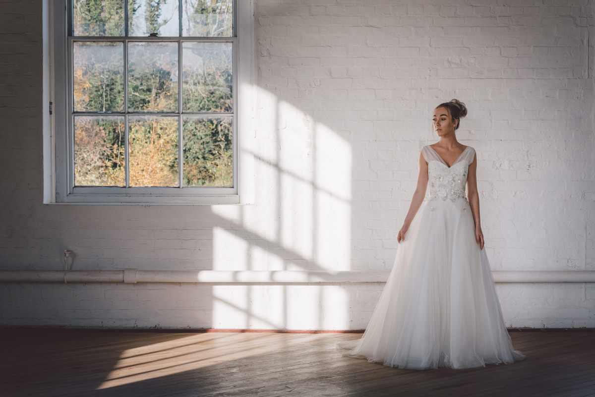A Martin Charles Couture wedding dress