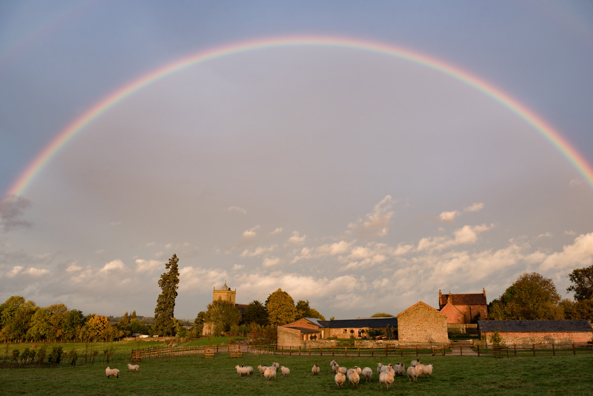 Rainbow at Dodford Manor