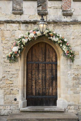Notley Abbey front door