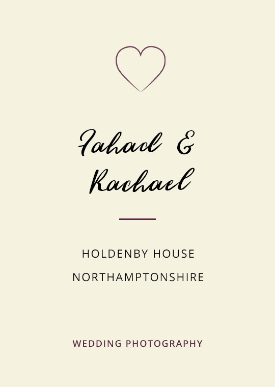 Cover image for blog post about Fahad and Rachael's Holdenby House wedding