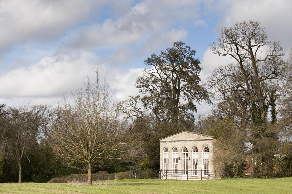 The Orangery at Kelmarsh Hall