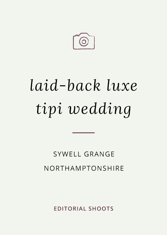 Cover image for blog post about tipi wedding at Sywell Grange