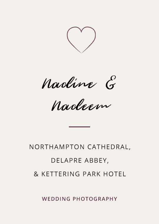 Cover image for blog post about an intimate wedding at Northampton Cathedral