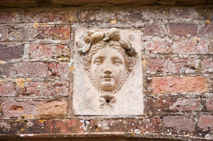 Brickwork detail at Kelmarsh Hall