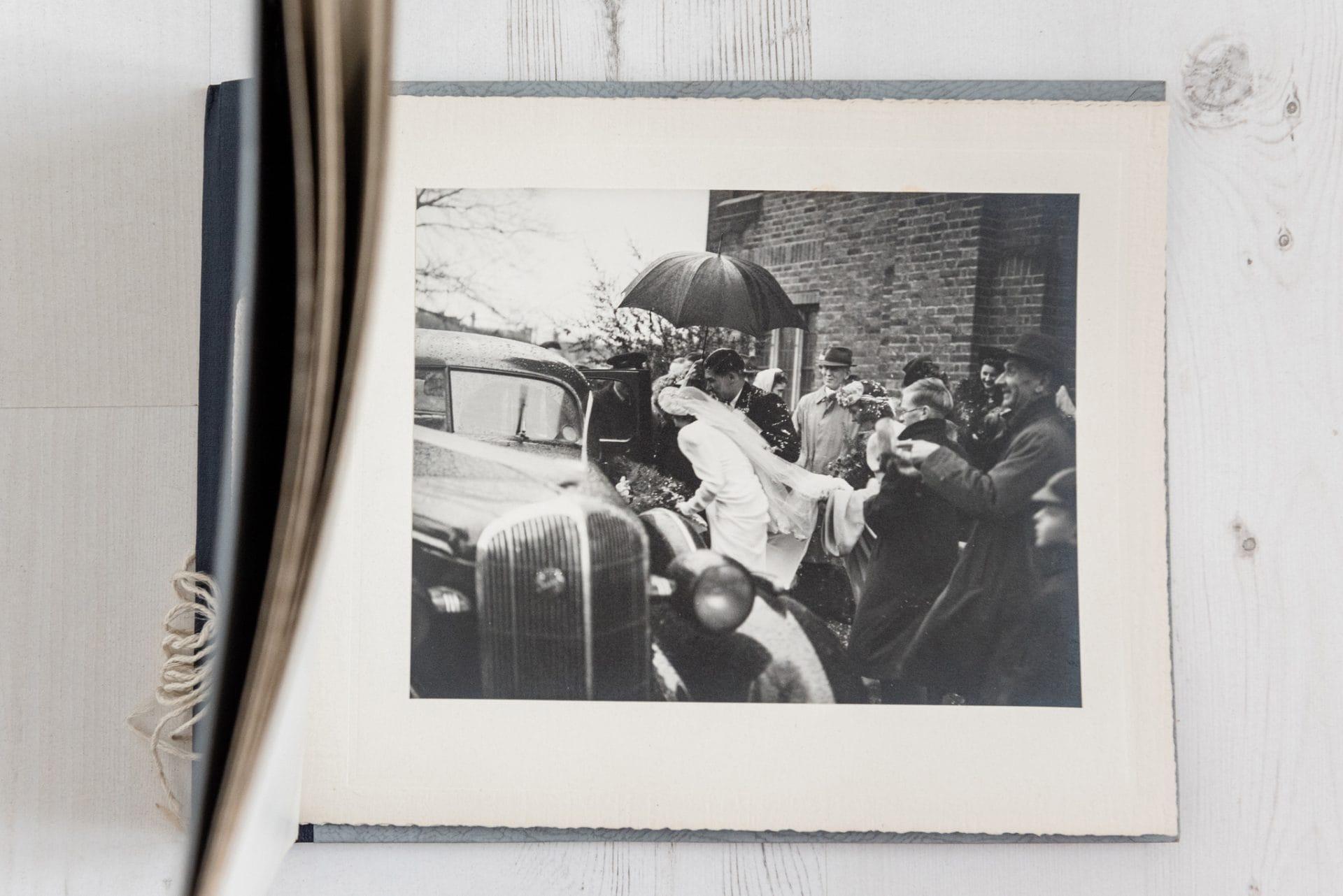 1940s documentary wedding photography