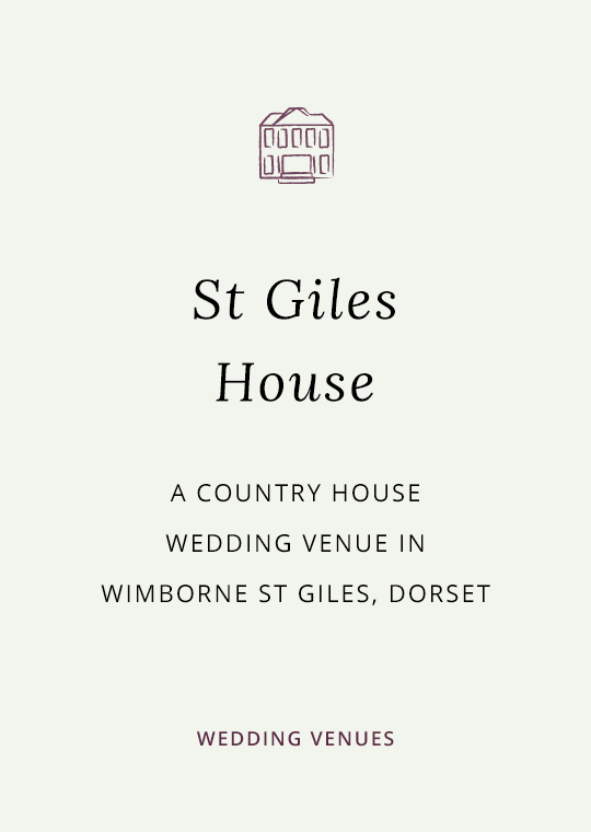 Cover image for blog post about St Giles House wedding venue in Dorset